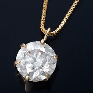 その他 K18 1ctダイヤモンドペンダント/ネックレス ベネチアンチェーン(鑑定書付き) ds-1316358:家電のタンタンショップ プラス