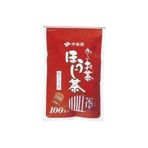 その他 (業務用20セット)伊藤園 おーいお茶ほうじ茶ティーバッグ100袋 ds-1468468:家電のタンタンショップ プラス