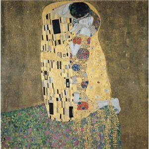 その他 世界の名画シリーズ、プリハード複製画 グスタフ・クリムト作 「接吻」【代引不可】 ds-193552:家電のタンタンショップ プラス