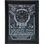 KEYSTONE(キーストーン) 壁掛け時計 チョークアート ウォール クロック Priceless L 手書き風 EE-01929