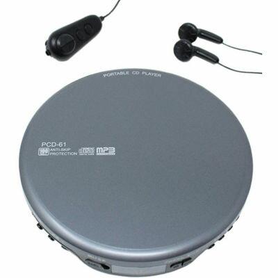 ポータブルオーディオプレーヤー, ポータブルCDプレーヤー WINTECH MP3CD() PCD-61