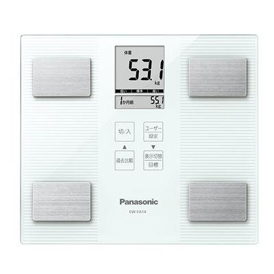 身体測定器・医療計測器, 体重計・体脂肪計・体組成計  EW-FA24-W