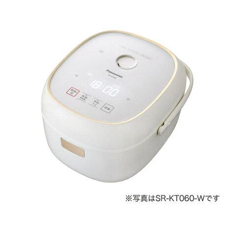パナソニック IHジャー炊飯器 3.5合炊き ホワイト SR-KT060-W【納期目安:11/1発売予定】