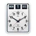 フルオートマテイックカレンダークロックの老舗スイスの拠点のトウエンコ社の電波掛け時計ベスト商品です。TWEMCO rc-12a-w