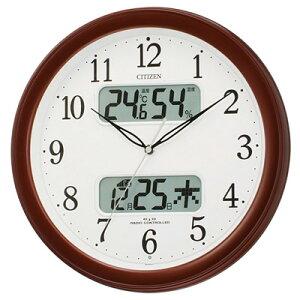 ネムリーナカレンダーM01(茶色メタリック)リズム時計 4FYA01-006