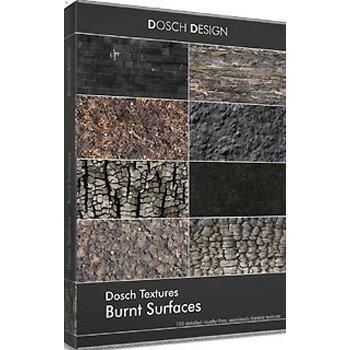 DOSCH DESIGN DOSCH Textures: Burnt Surfaces DT-BURSUR