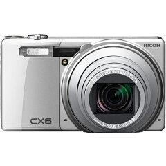 最短0.1秒の高速AFを実現したデジタルカメラ CX6 BK(シルバー) (CX6SL)【在庫状況:(12/中旬頃...