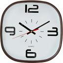 掛け時計ラパン Φ30 ブラウン (ブラウン)不二貿易 82553