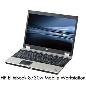 日本HP HP EliteBook 8730w Mobile Workstation Q9100/17ZD/4/500/Y/o/VB64/M3/M/S VE954PA#ABJ