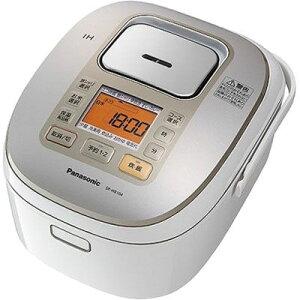 パナソニック 炊飯容量5.5合全面発熱5段IHジャー炊飯器 (ホワイト) (SRHB104W) SR-HB104-W【納期目安:2週間】