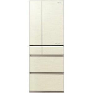 パナソニック フルフラットガラスドア冷蔵庫フレンチ(508L) [シャンパンゴールド] NR-F510PV-N【納期目安:約10営業日】