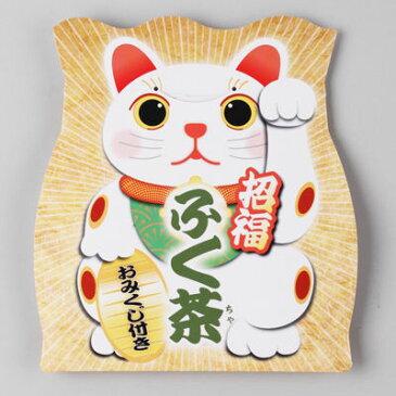 三盛物産 【100個セット】招福 ふく茶(麦茶) [麦茶パック10g×1、おみくじ] SFM-8