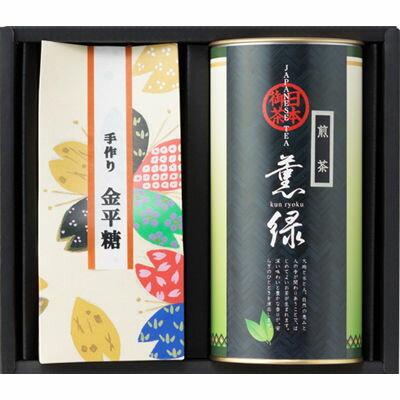三盛物産 やすらぎ [煎茶清緑80g、こんぺいとう40g×2] SKP-20