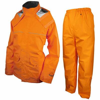 URVAN(アーヴァン) レインスーツ 千両万両 オレンジ L #9850 AA-17932