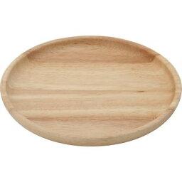 不二貿易 【6個セット】木製ラウンドディッシュM ボヌール 96218