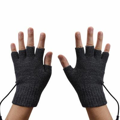 サンコー 指先まで温かい!USB指までヒーター手袋 USGLVE2G