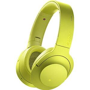ソニー Bluetoothワイヤレスノイズキャンセリングステレオヘッドセット MDR-100A…