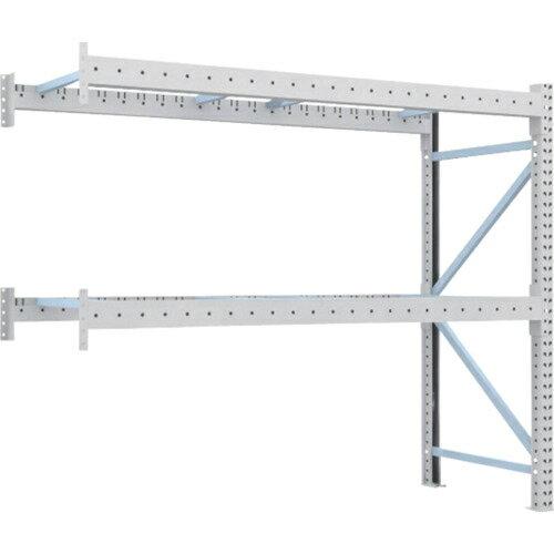 トラスコ中山 TRUSCO 重量パレット棚1トン2500×900×H2000連結 2段 1D-20B25-09-2B:激安!家電のタンタンショップ