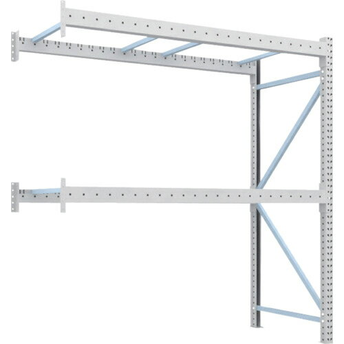 トラスコ中山 TRUSCO 重量パレット棚1トン2300×1000×H2500連結 1D-25B23-10-2B:激安!家電のタンタンショップ