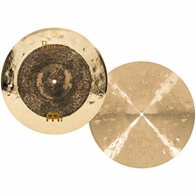 ドラム, ハイハット MEINL Byzance Extra Dry 15 Dual Hihat B15DUH 0840553014709