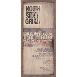 その他 サインボード(看板) 木製(天然木) 横33cm×縦71cm (インテリア雑貨) SNB-141C ds-1386735