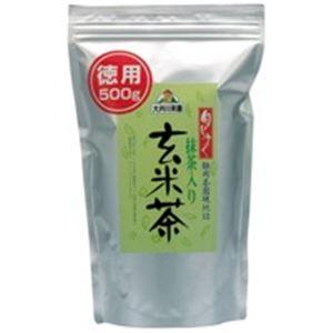 その他 (業務用3セット)大井川茶園 徳用抹茶入り玄米茶500g袋 ×3セット ds-1463347