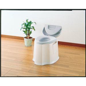 その他 アロン化成 樹脂製ポータブルトイレ 安寿ポータブルトイレ GX 533-093 ds-1550050