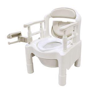 その他 アロン化成 樹脂製ポータブルトイレ 安寿ポータブルトイレ FX-CP ベージュ 533-550 ds-1550183