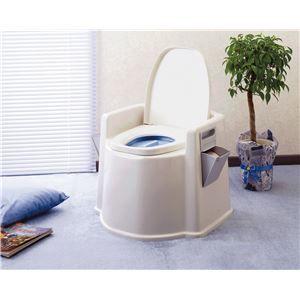 その他 幸和製作所 樹脂製ポータブルトイレ テイコブポータブルトイレ DX PT02 ds-1550545