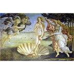 その他 世界の名画シリーズ、プリハード複製画 サンドロ・ボッティチェルリ作 「ヴィーナスの誕生」【代引不可】 ds-193534