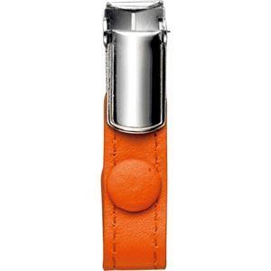 その他 (まとめ) フロント 本革製ネームカードホルダー用クリップ オレンジ RLNHCR-O 1個 【×20セット】 ds-1577876