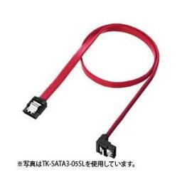 その他 (まとめ)サンワサプライ 下L型シリアルATA3ケーブル TK-SATA3-1SL【×3セット】 ds-1616968