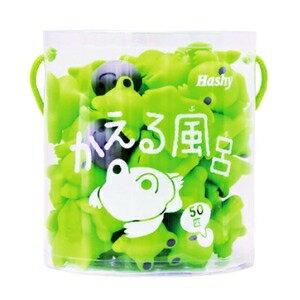 その他 知育玩具/お風呂用おもちゃ 【かえる風呂】 50匹セット PVC製 『HaShy』 〔浴室 シャワールーム〕 ds-1629833