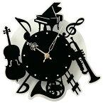 その他 壁掛け時計(楽器) Lij044