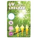 その他 紫外線チェックカード・UV4 【100枚セット】 d...