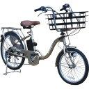 KAIHOU 20/24型外装6段ビックバスケット『電動アシスト自転車 SUISUI』(シャンパンゴールド) KH-DCY07-SGO-BB