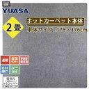 ユアサプライムス ホットカーペット本体2帖(電磁波カット) YC-WK200T(K)