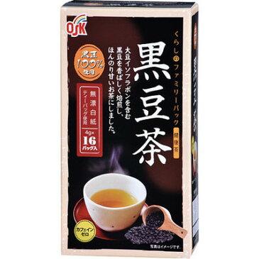 小谷穀粉 OSK くらしのファミリーパック 黒豆茶 4g*16袋入 4901027629587