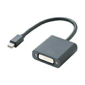 その他 エレコム miniDisplayPort変換アダプタ/DVI/ブラック AD-MDPDVIBK ds-1945664