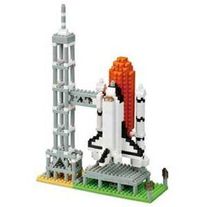 その他 カワダ NBH_131 nanoblock スペースシャトル発射台 【nanoブロック】 ds-1935765