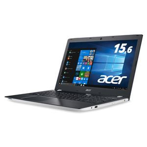 パソコン, ノートPC  Acer Aspire E 15 E5-576-F78GW (Corei7-7500U8GB1TBDVDRRW15. 6Windows 10Home(64bit)Office) ds-2020320