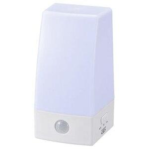 オーム電機 LED人感センサーライト NIT-BLA6JS-WN