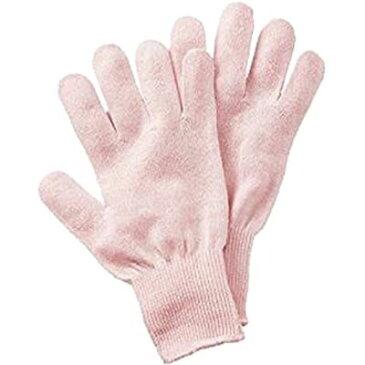 セルヴァン シルク混おやすみ手袋 ピンク 1双組 4985697231127