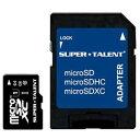 その他 スーパータレント UHS-ICLASS10対応 microSDXCカード 64GB ST64MSU1P 1枚 ds-2139082