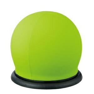 その他 CMC スツール型バランスボール グリーン BC-B GR 回転 ds-2166411