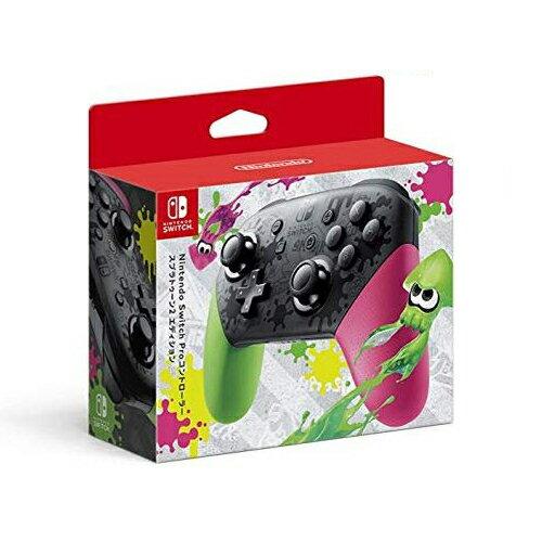 任天堂Switch用Proコントローラースプラトゥーン2エディション4902370536980