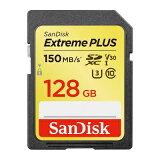 サンディスク エクストリーム プラスSDXCメモリーカード128GB SDSDXW5-128G-JNJIP