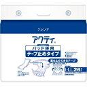 その他 日本製紙 クレシア アクティパッド併用テープ止めタイプ L-LL 1セット(78枚:26枚×3パック) ds-2293560