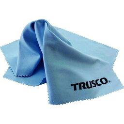 トラスコ中山 TRUSCO メガネふきクロス ブルー 1枚入 サイズ230x230 tr-1952423