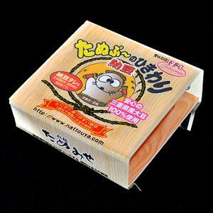 細かく刻んであるから、離乳食にもピッタリ!たぬぷ〜のひきわり納豆